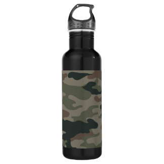 Camo Army Green Liberty Bottleworks Water Bottle