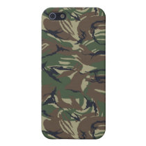 camo army Pern 4 casing Cover For iPhone SE/5/5s