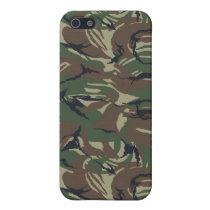 camo army Pern 4 casing iPhone SE/5/5s Case