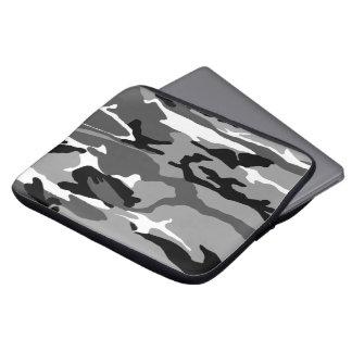 Camo ártico manga portátil