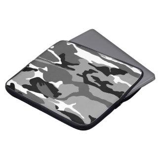 Camo ártico mangas portátiles