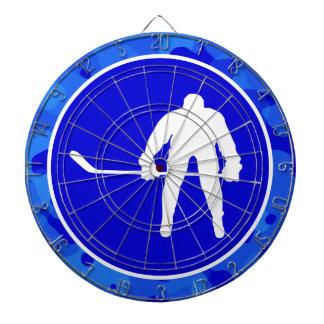 Camo azul Hockey del camuflaje Tabla Dardos