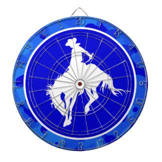 Camo azul Rodeo del camuflaje Tablero Dardos