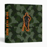 Camo Baseball Vinyl Binder