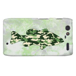 Camo Bass Fishing Motorola Droid RAZR Cases
