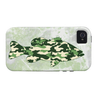 Camo Bass Fishing iPhone 4 Cases