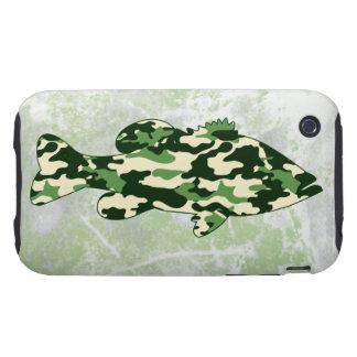 Camo Bass Fishing iPhone 3 Tough Covers