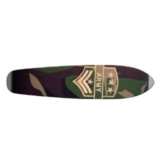 Camo-Bettie-army-clothing Skateboard Deck