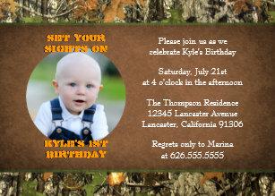 camo birthday invitations zazzle