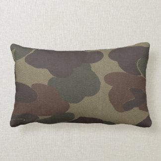 Camo Brown Kids MoJo Throw Pillow