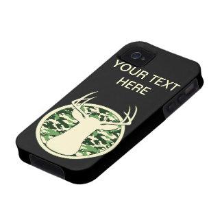 CAMO BUCK LOGO Case-Mate iPhone 4 CASES