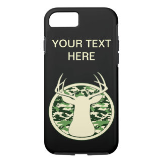 CAMO BUCK LOGO iPhone 7 CASE