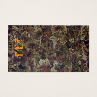 Camo business card