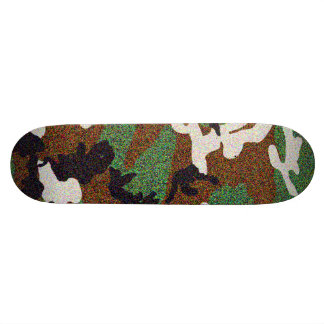 CAMO BY EKLEKTIX COOL CAMOUFLAGE GEAR SKATEBOARD DECK