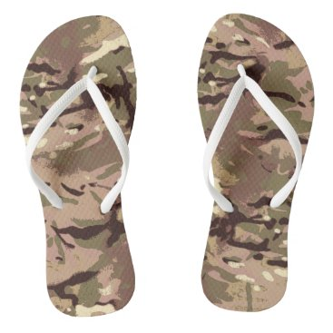 Camo Camo, Wherefore Art Thou? LIDJ Design. Flip Flops