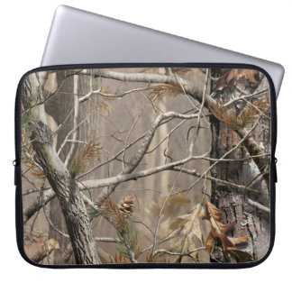 "Camo Camouflage Hunting Real Tree 15"" Laptop Case"