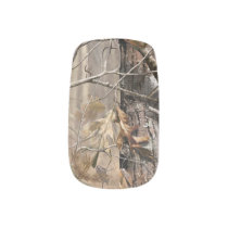 Camo Camouflage Hunting Real Tree Minx Nail Wraps