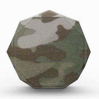 camo Camouflage Pattern Acrylic Award