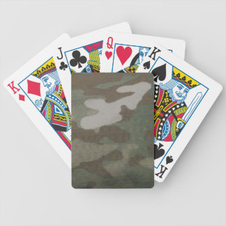 camo Camouflage Pattern Bicycle Playing Cards