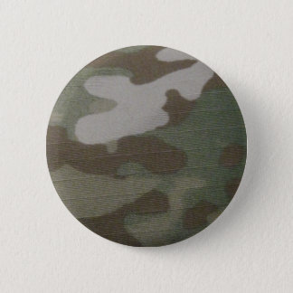 camo Camouflage Pattern Button