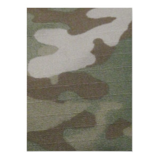camo Camouflage Pattern Card