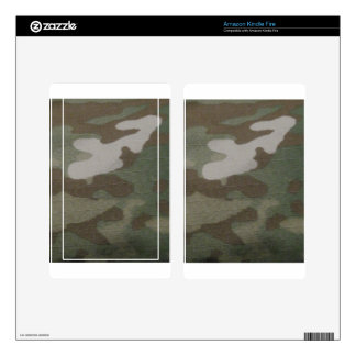 camo Camouflage Pattern Decal For Kindle Fire