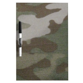 camo Camouflage Pattern Dry Erase Board