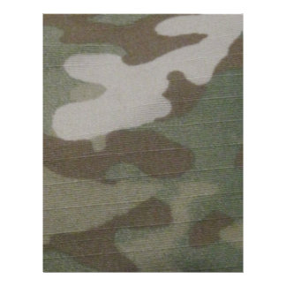 camo Camouflage Pattern Flyer