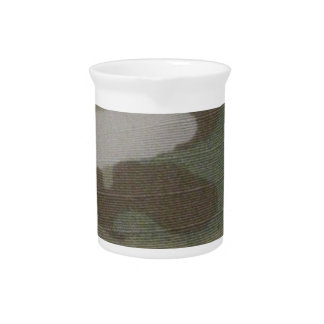 camo Camouflage Pattern Pitcher