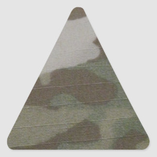 camo Camouflage Pattern Triangle Sticker