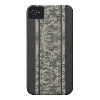 Camo & Carbon Fiber Stripes iPhone 4 Case