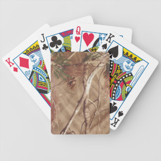 camo cards bicycle poker deck