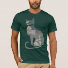 Camo Cat Dark T-Shirt