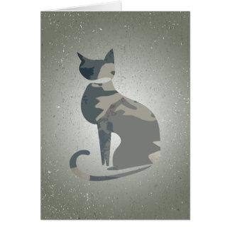 Camo Cat Folding Card 4