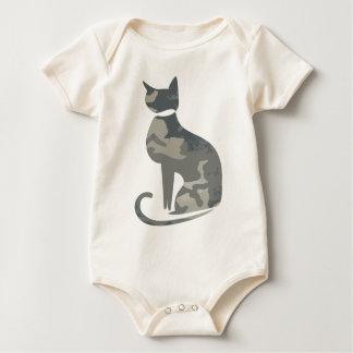Camo Cat Infant Creeper