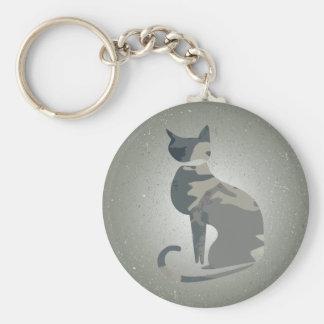 Camo Cat Keychain 2