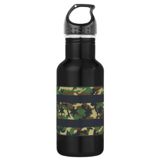 Camo Chicago Flag Special Ops  Liberty Bottle