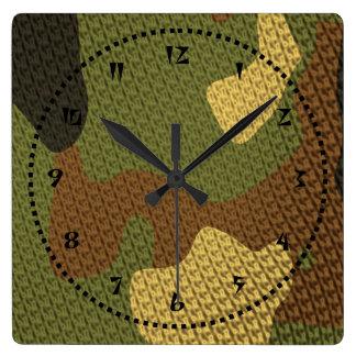 Camo Clock