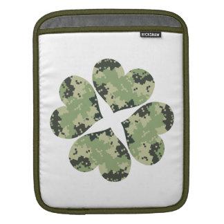 Camo Clover iPad Sleeves