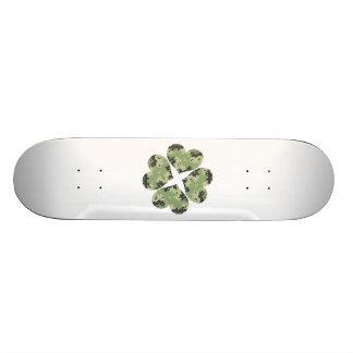 Camo Clover Skateboard Deck