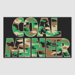 CAMO COAL MINER STICKERS