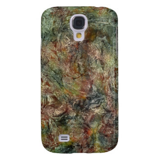 Camo Colored Frosted Autumn Abstract Samsung S4 Case