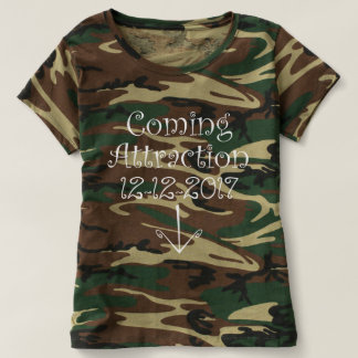"""Camo """"Coming Attraction"""" Due Date & Arrow T-shirt"""