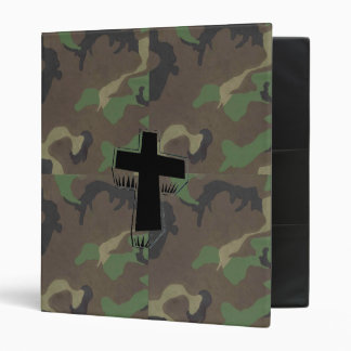 Camo Cross ~ Avery Binder 1 Touch EZD Ring