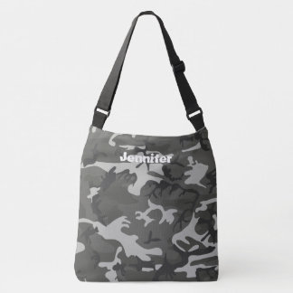 Camo Cross Body Bag, Large Crossbody Bag