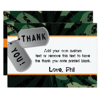 Camo, Dart Wars, Thank You Cards