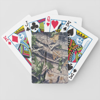 Camo Deck Bicycle Playing Cards