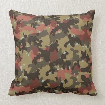 Camo Decorative Throw Pillow