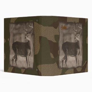 Camo  Deer Binder
