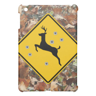 camo deer crossing add your own text cover iPad mini covers